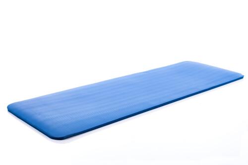 Yoga pilates exercise sport mat 179х1,5х60 cm, blue