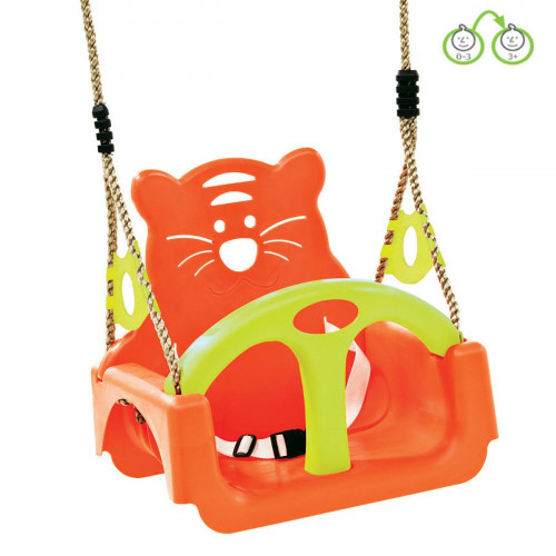 Vaikiškos supynės su apsauga  КВТ Trix, oranžinės