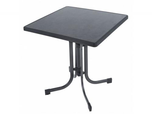 PIZARRA sulankstomas stalas, 70x70x73