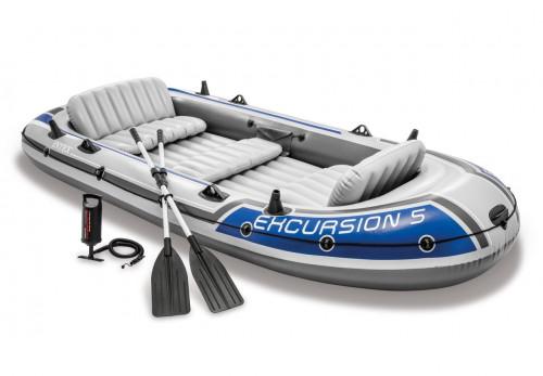 5-vietė pripučiama valtis Intex 68325 EXCURSION 5 SET (366х168х43 cm)
