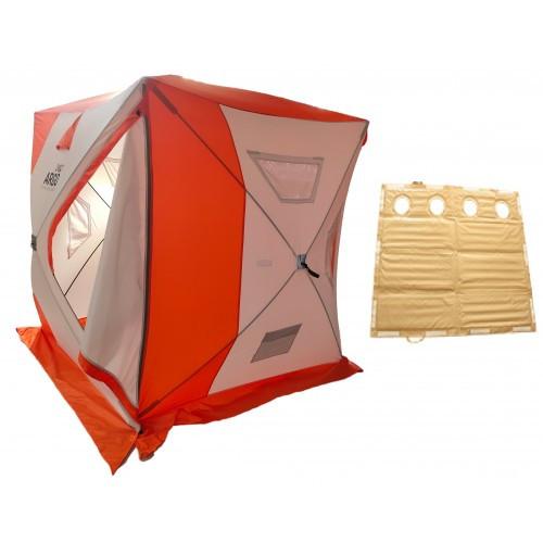 Winter tent ARGO Cube with PVC bottom 2.4х2.2х2.2 m