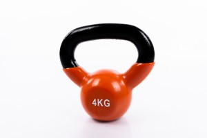 Metal Kettlebell With Vinyl Coating 4 kg