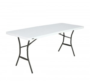 Lifetime 80642 Fold-in-Half Table Lifetime 183x70cm