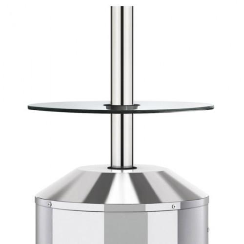 Stiklinis stalas šildytuvui Elegance