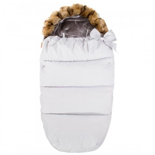 Vaikiškas miegmaišis pasivaikščiojimams SB005, baltos spalvos