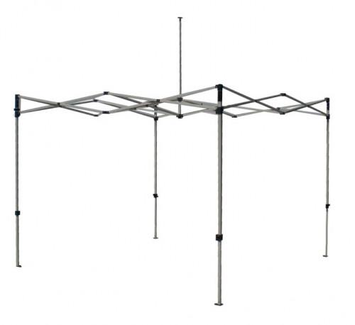 Sulankstomas tento karkasas  3 x 3 m (aliuminis, 40x40x1.0 mm)