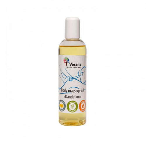 Body massage oil Verana Professional, Dandelion 250ml