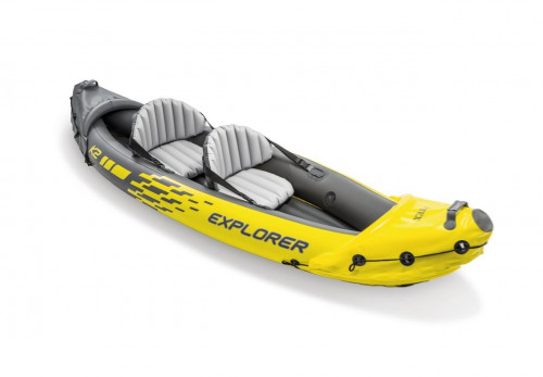 Two-seat inflatable kayak Intex Explorer K2, 312x91 cm (68307)
