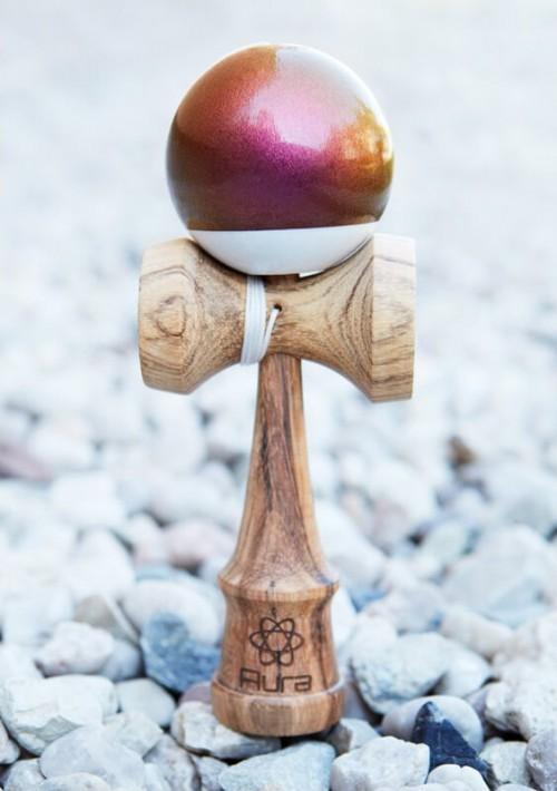 Kendama Aura Autumn Alpha Zebrano