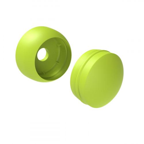 Пластиковая заглушка для болта 12 мм, зеленая