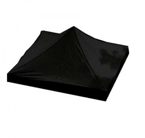 Tento stogas  2.92 x 2.92 m (juoda spalva, audinio tankumas 160 g/m2)