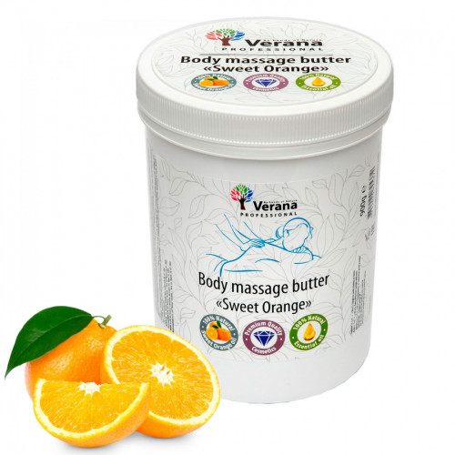 Body massage butter Verana Sweet Orange 900gr
