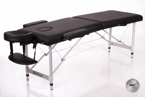 RESTPRO® ALU 2 (M) Black Portable Massage Table