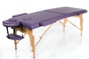 RESTPRO® Classic-2 Purple sulankstomas masažo stalas
