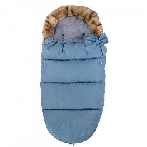 Vaikiškas miegmaišis pasivaikščiojimams SB001, mėlynos spalvos