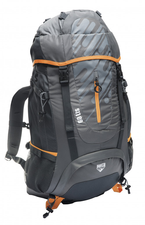 Kuprinė Pavillo Ultra Trek 60L, Pilka 68082