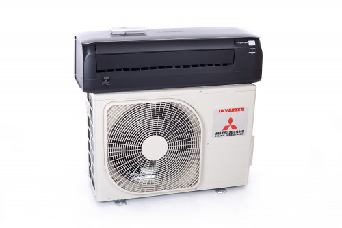 Air conditioner (heat pump) Mitsubishi SRK/SRC35ZS-WT Premium (titanium) Nordic series