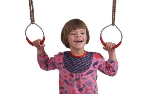 """Just-Fun Gimnastikos žiedai """"Mažieji žiedai"""", Ø120 mm"""