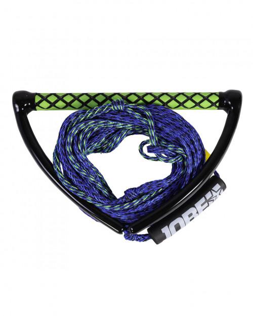 """Veikbordo virvė su rankena """"Jobe Prime Wake Combo"""", mėlyna, 19.8 m"""