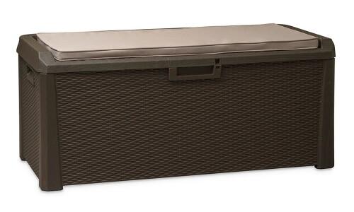 Pinta daiktų saugojimo dėžė + sėdynės pagalvėlė, 148х72х64 cm, Toomax (Italija)