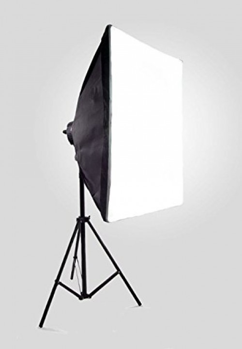Quadhead 4x85W, Softbokss 50x70cm with Light stand  (foto_02478)