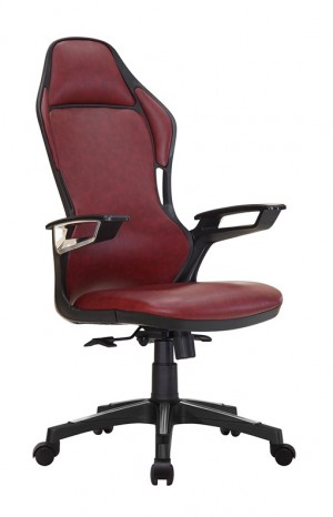 Office chair A322D01 wine red
