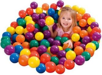 Maži minkšti kamuoliukai 100 vnt. INTEX 49602NP