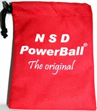 NSD Powerball bag (red)