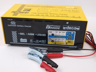 Pulse Battery Charger FL2213D (6-12-24V) (15-260Ah) 3.5/7/15A