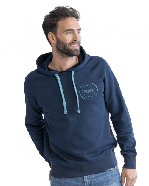 Jobe Hooded Sweater Midnight Blue