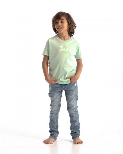 Jobe Casual T-Shirt Kids Geyser Green