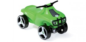Kids ride on push car BRUMEE CRAZEE green