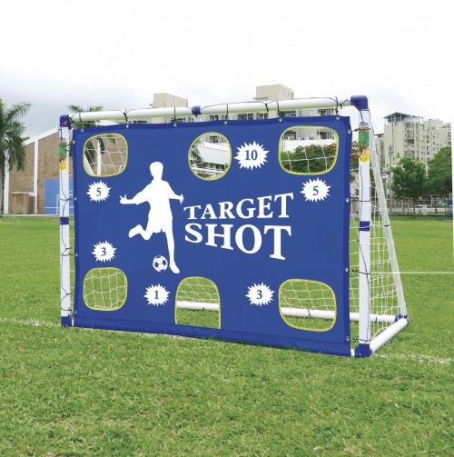 Futbolo vartai su įvarčiu JC-7180T, 183x130x96 cm