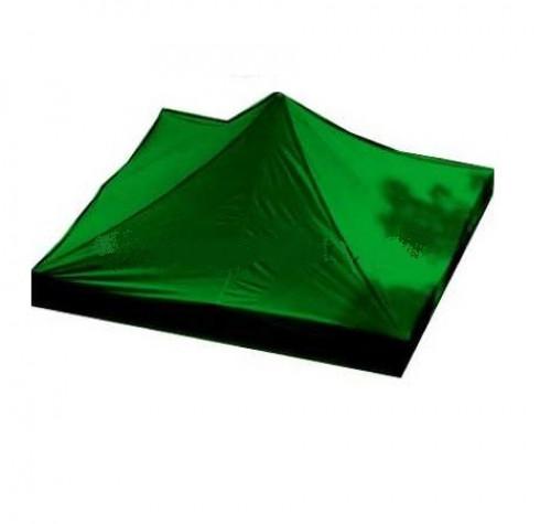 Tento stogas  2.92 x 2.92 m (žalia spalva, audinio tankumas 160 g/m2)