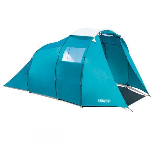 Bestway turistinė palapinė Pavillo (3.05+0.95)x2.55x1.80 m Family Dome 4 Tent 68092