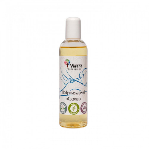 Body massage oil Verana Professional, Coconut 250ml