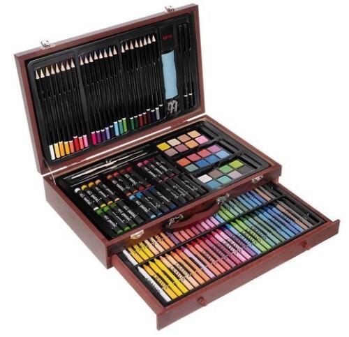 Artistic set for painting, 143 pcs.