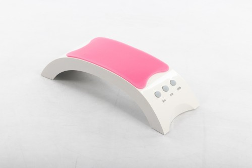18W UV/LED nail varnish lamp ASN-A310, a manicure hand rest