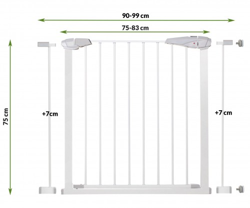 Kids Safety Door Gate 75-97 cm (SG001-2Х-SG001С)