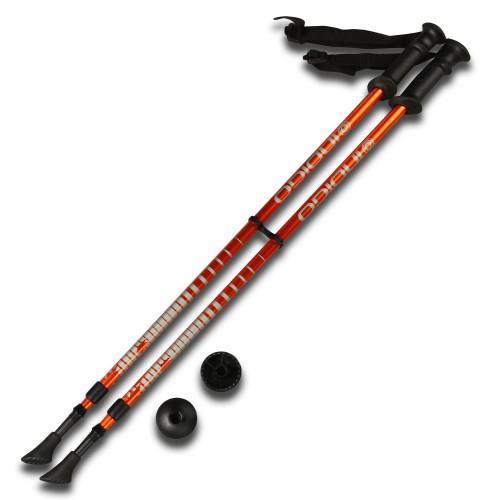 Палки для скандинавской ходьбы Nordic walking IRAK001 80-135cm