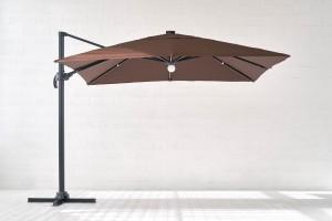 Sodo skėtis su apšvietimu Bright Night 3x3.5 m