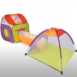 Child Play Tent with Tunnel and Igloo KDZT03