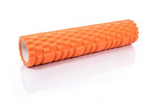 Massage Foam Roller Yoga Roller 14x62cm, orange