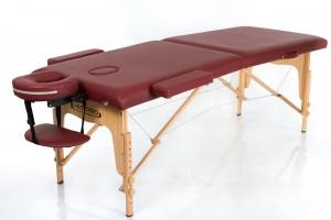 RESTPRO® Classic-2 Wine Red sulankstomas masažo stalas