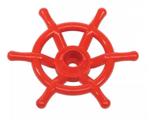 """КВТ šturvalas """"Laivas"""", Ø350 mm, raudonas"""