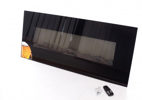"FLAMMIFERA Panoramic electric fireplace WSG01 50"" (1280x550x165mm)"