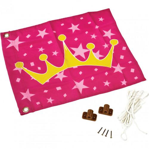 """КВТ žaislinė vėliava """"Princesė""""(pakėlimo mechanizmas), 55x45 cm"""