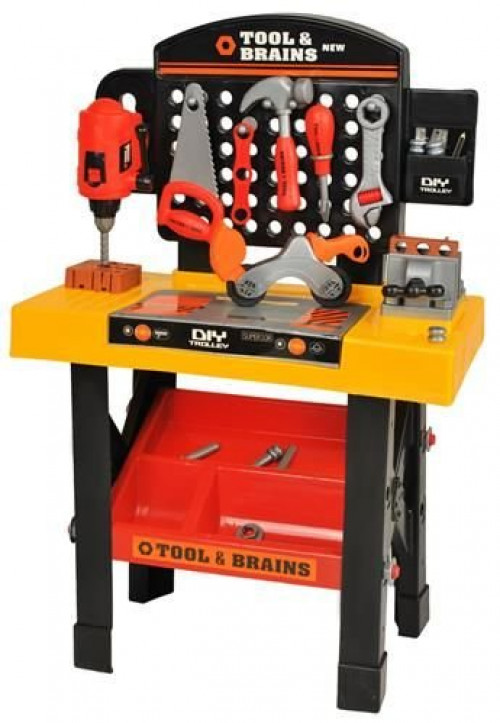 Kids' workshop with tools XXL, 00006728