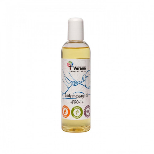 Body massage oil Verana Professional, PRO-1 250ml (without aroma)