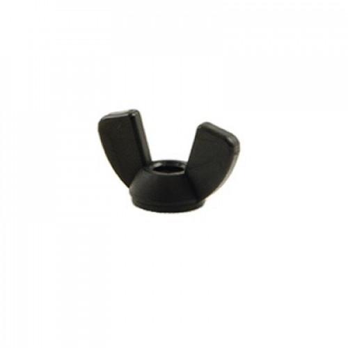 Minelab Nut, 1/4-20 Unc Nylon Wing Black